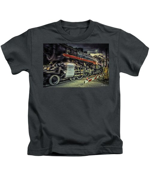 Roaring Past Kids T-Shirt