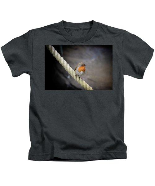Robin Without Batman Kids T-Shirt