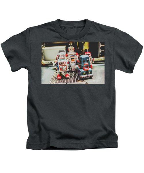 Robots Of Retro Cool Kids T-Shirt