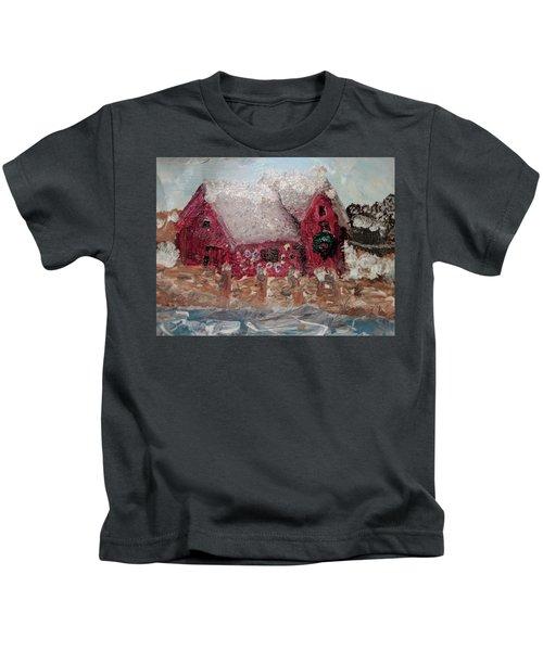 Rockport Christmas 1 Kids T-Shirt