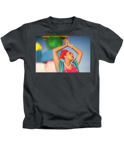 Cathy Rocks Kids T-Shirt