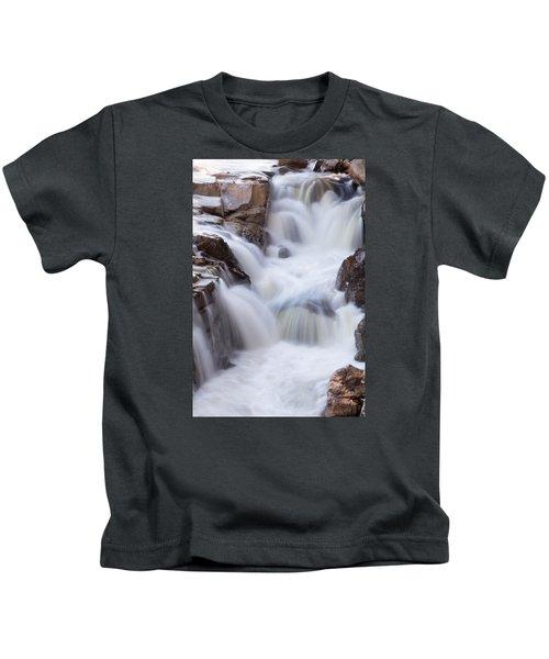Rocky Gorge Falls Kids T-Shirt