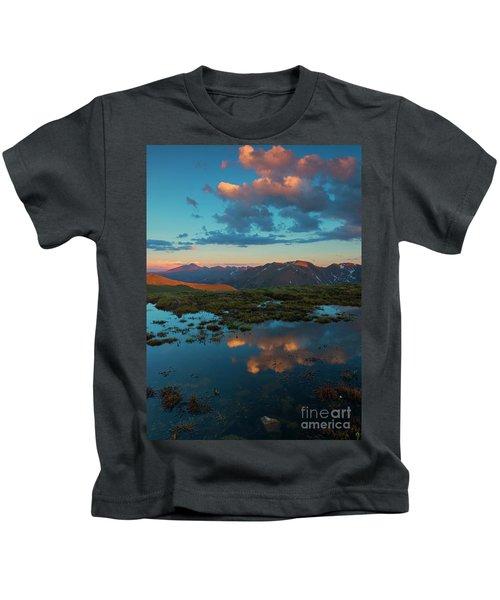 Rocky Mountain Reflections Kids T-Shirt