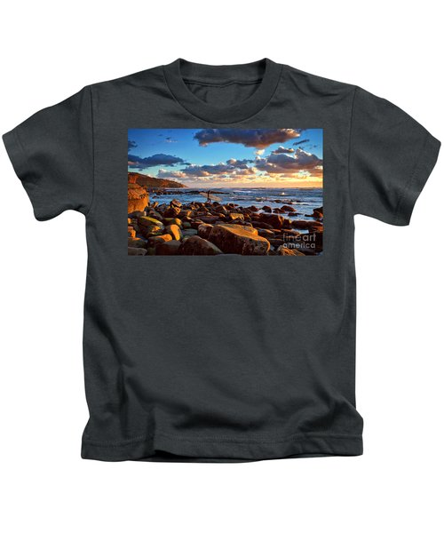Rocky Surf Conditions Kids T-Shirt
