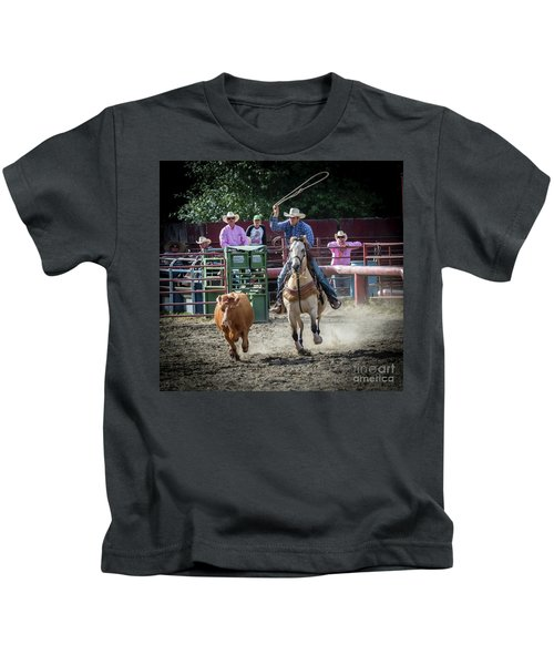 Cowboy In Action#1 Kids T-Shirt