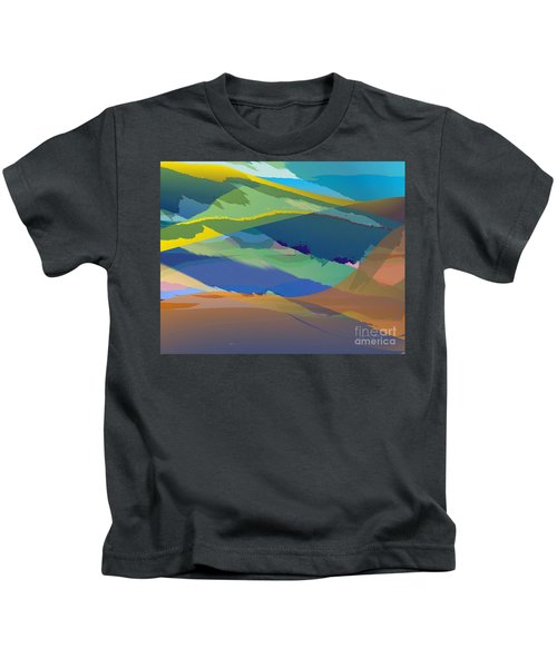 Rolling Hills Landscape Kids T-Shirt