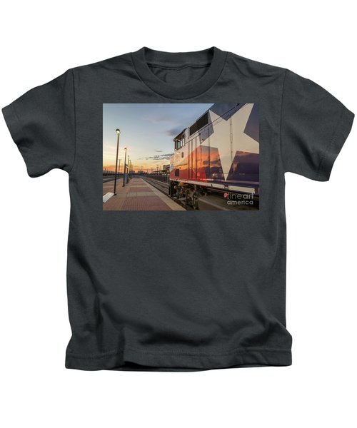 Rolling Into The Sunset Kids T-Shirt
