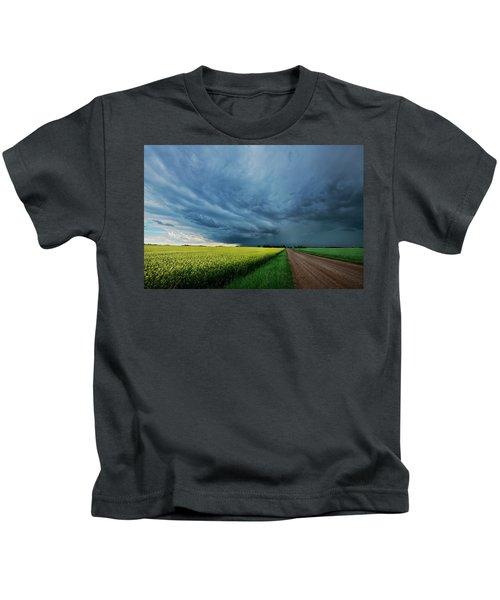 Rolling Storm Kids T-Shirt