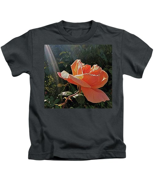 Rose And Rays Kids T-Shirt