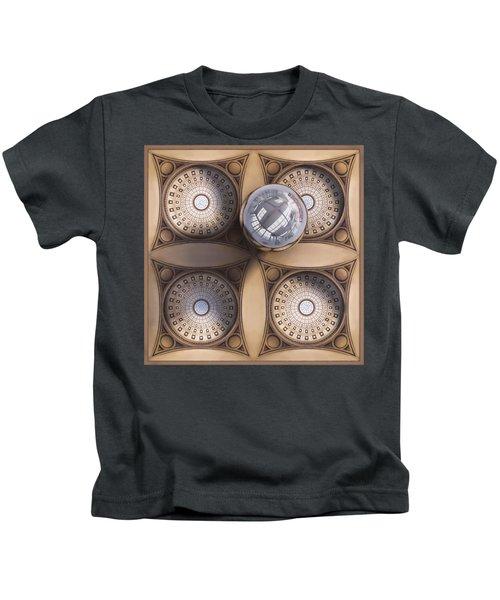 Rotunda 4 Ways Kids T-Shirt