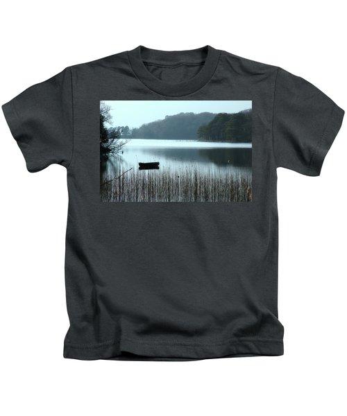 Rowboat On Muckross Lake Kids T-Shirt