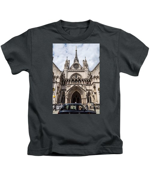 Royal Courts Of Justice In London Kids T-Shirt