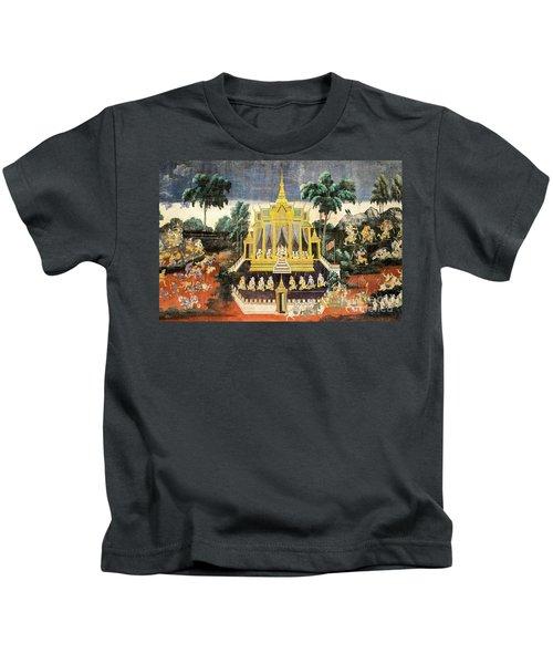 Royal Palace Ramayana 10 Kids T-Shirt