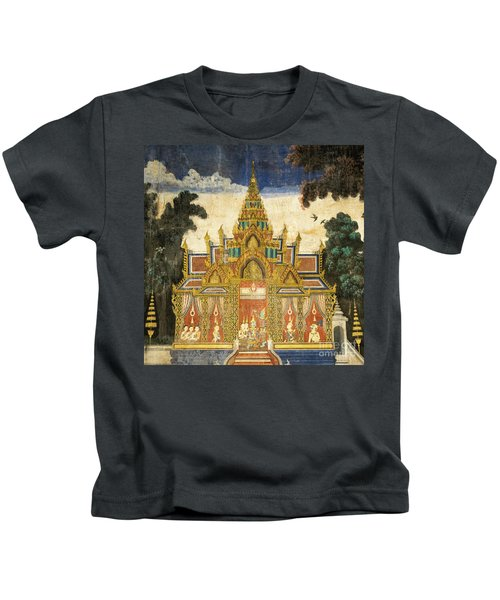 Royal Palace Ramayana 17 Kids T-Shirt