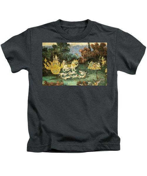 Royal Palace Ramayana 19 Kids T-Shirt