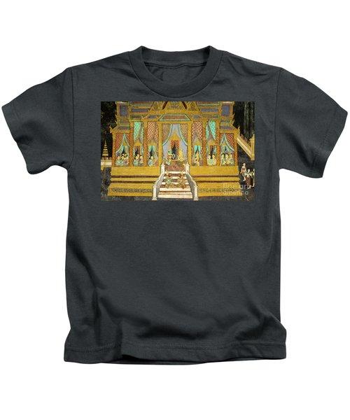 Royal Palace Ramayana 21 Kids T-Shirt