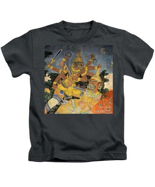 Royal Palace Ramayana 22 Kids T-Shirt