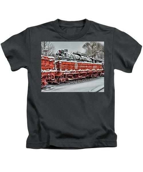 Running Out Of Steam Kids T-Shirt