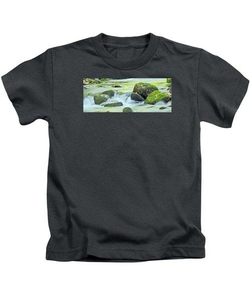 Running Water Kids T-Shirt