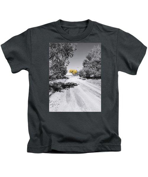 Rural Autumn Splash Kids T-Shirt