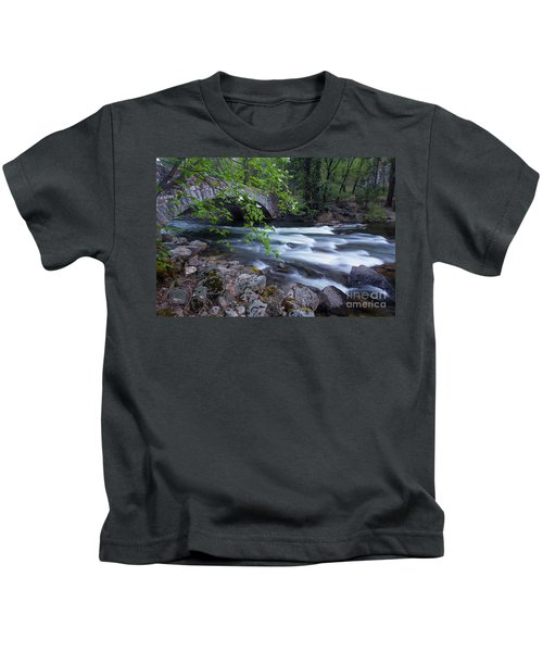 Rushing Water Kids T-Shirt