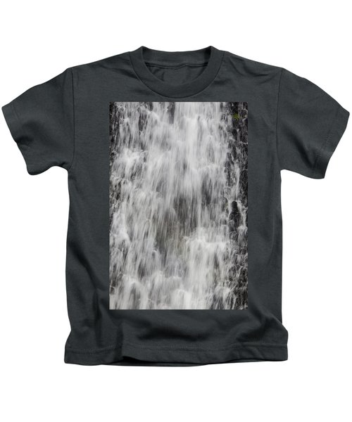 Rushing Waterfall Kids T-Shirt