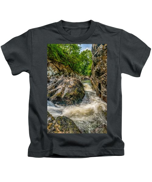 Rushing Waters  Kids T-Shirt