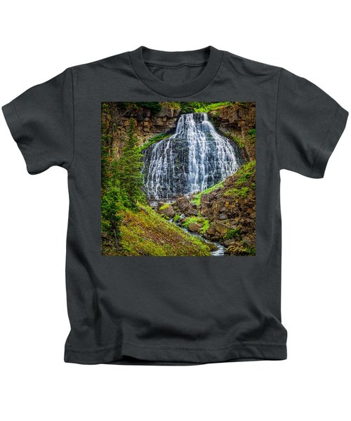 Rustic Falls  Kids T-Shirt
