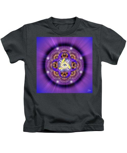 Sacred Geometry 639 Kids T-Shirt