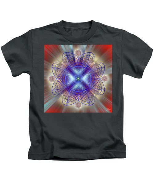 Sacred Geometry 656 Kids T-Shirt