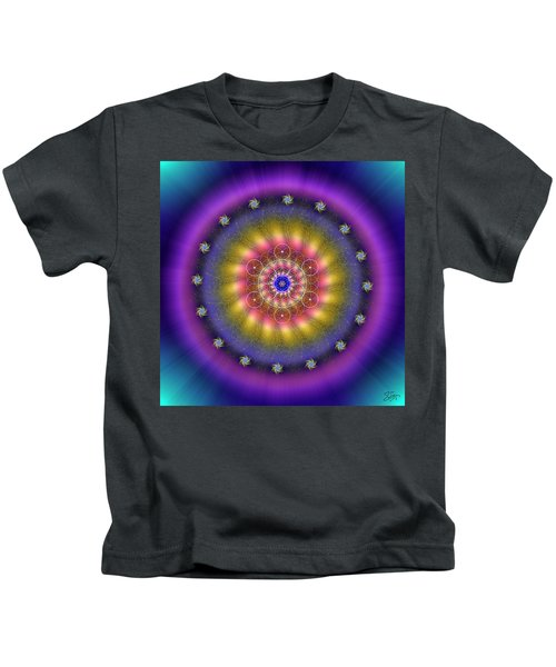 Sacred Geometry 659 Kids T-Shirt
