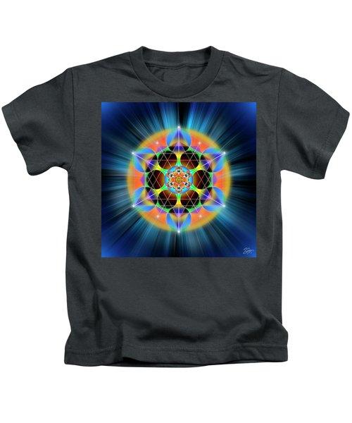 Sacred Geometry 709 Kids T-Shirt