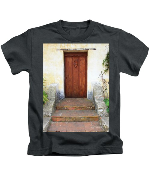 Sacred Heart Door Kids T-Shirt