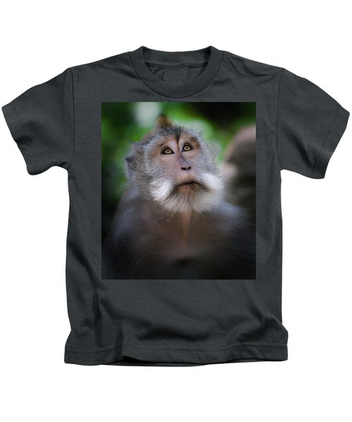 Sacred Monkey Forest Sanctuary Kids T-Shirt