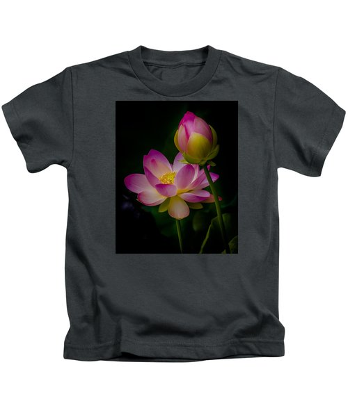 Sacred Water Lily 4 Kids T-Shirt