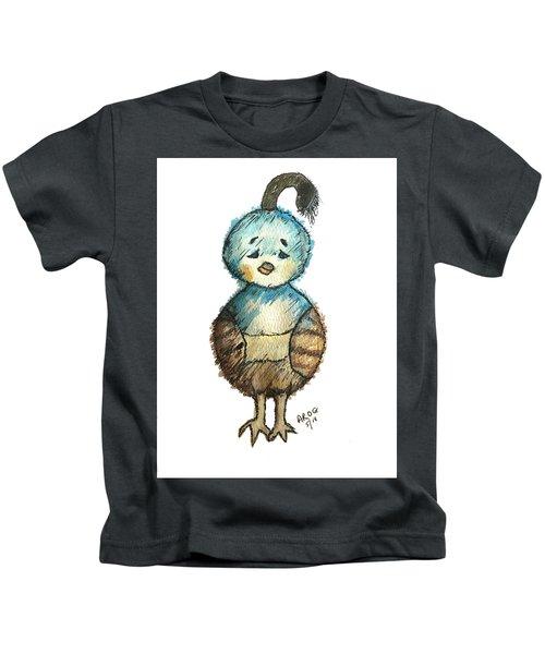 Baby Quail Kids T-Shirt