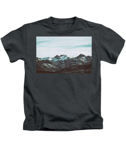 Saddle Mountain Morning Kids T-Shirt