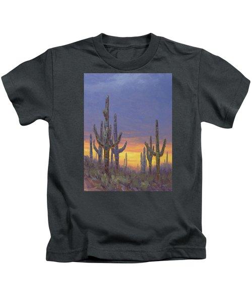 Saguaro Mosaic Kids T-Shirt