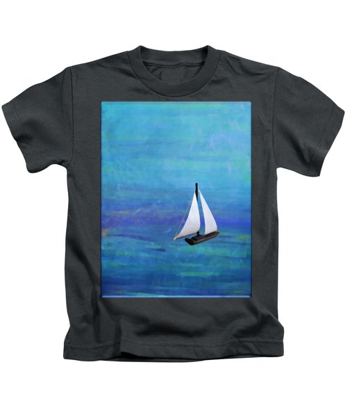 Sail Boat Kids T-Shirt