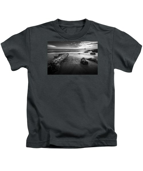 Sail Into The Sunset - Bw Kids T-Shirt