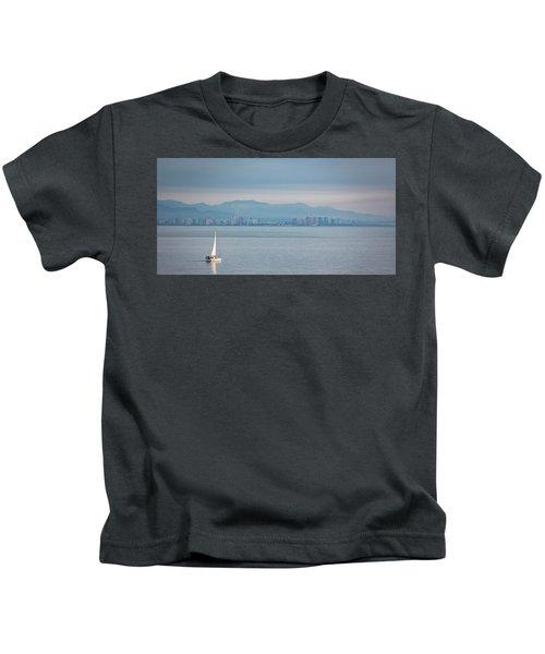 Sailing To Shore Kids T-Shirt
