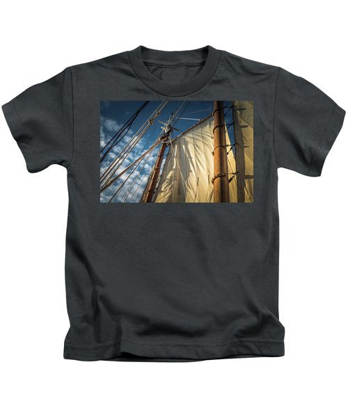 Sails In The Breeze Kids T-Shirt