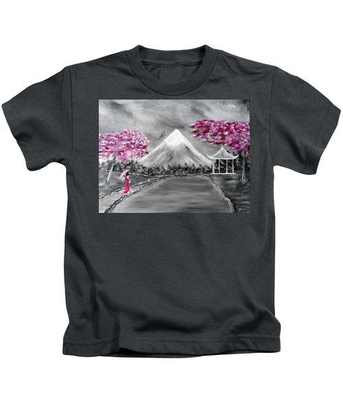 Sakura - Japanese Dreams Kids T-Shirt