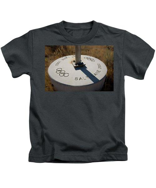 Salt Lake Olympics 2002 Kids T-Shirt