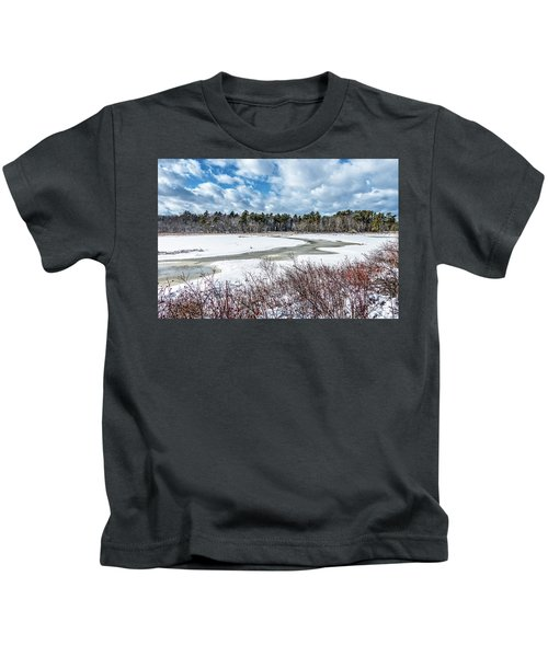 Salt Marsh Meander Kids T-Shirt