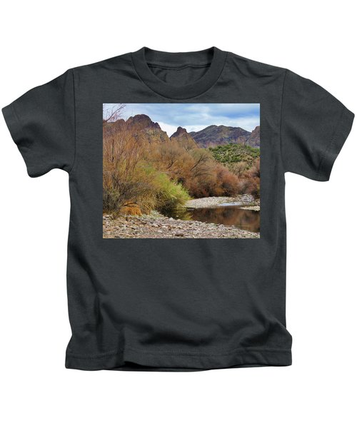 Salt River Pebble Beach Kids T-Shirt