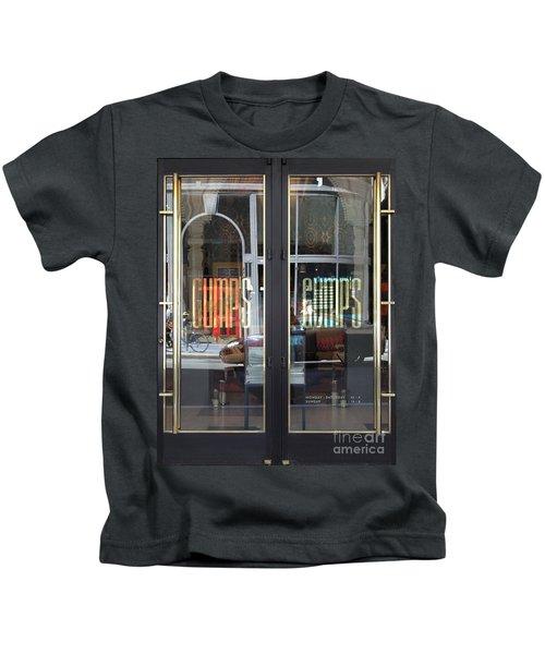 San Francisco Gumps Department Store Doors - Full Cut - 5d17094 Kids T-Shirt