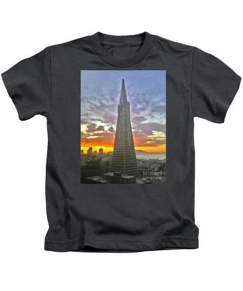 San Francisco Pyramid Kids T-Shirt