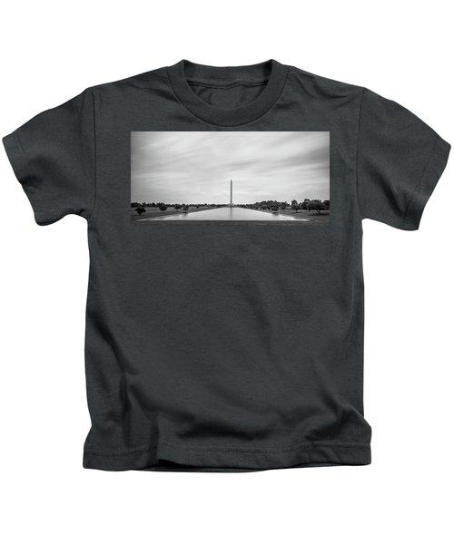 San Jacinto Monument Long Exposure Kids T-Shirt