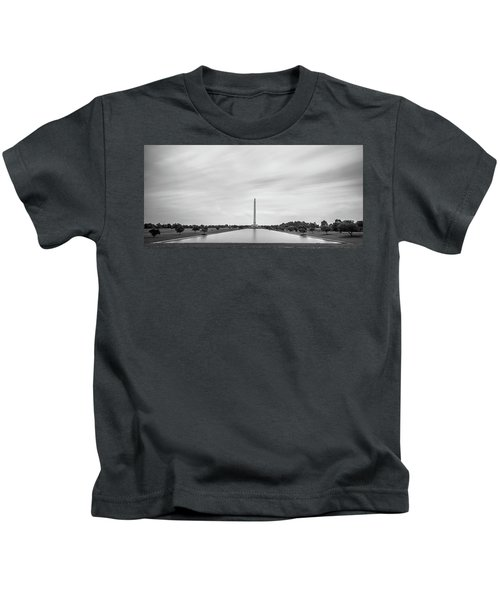San Jacinto Monument Long Exposure Kids T-Shirt